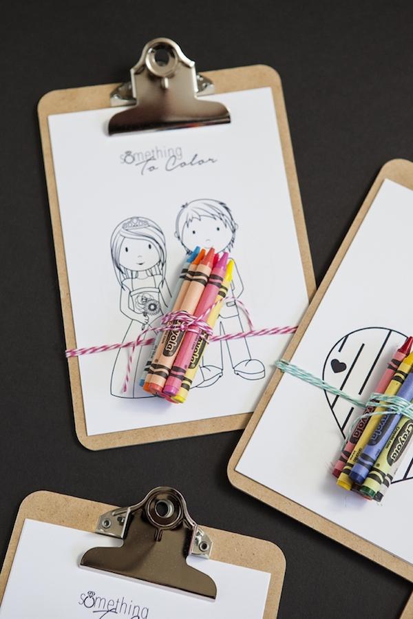 libro de colorear de boda