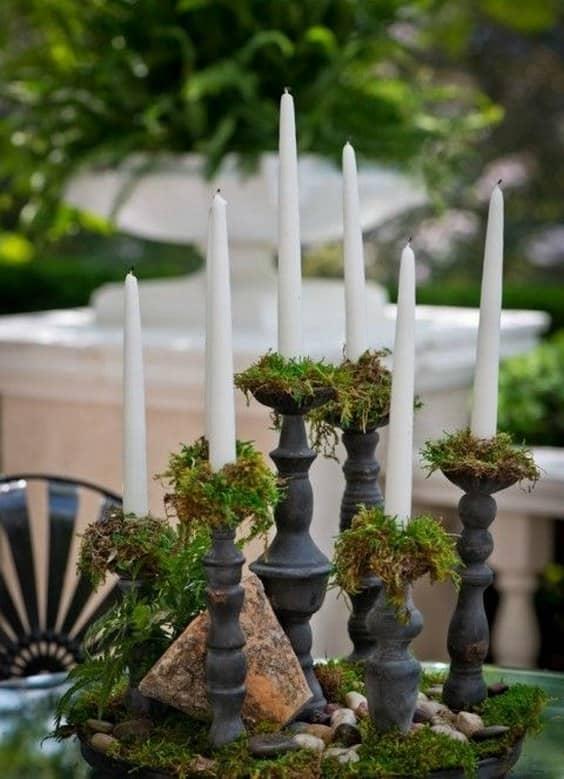 musgo-y-velas-centro de mesa-boda-min