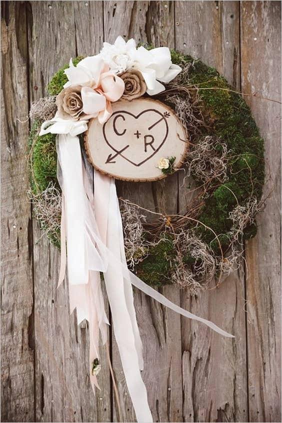 decoración-rústica-musgo-boda-min