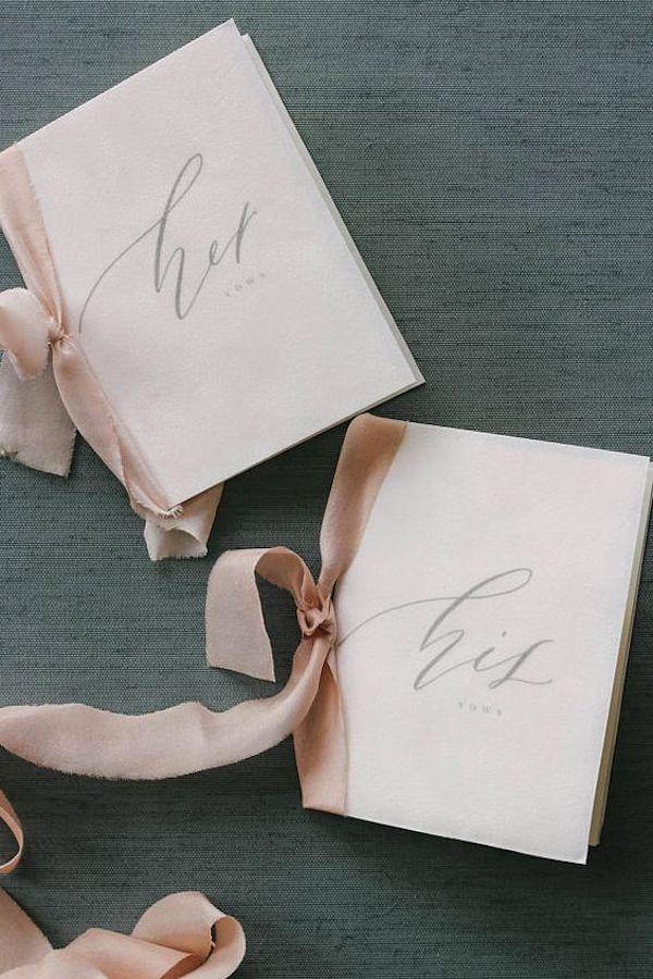 folletos de promesa de boda