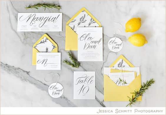anuncios de boda de limones