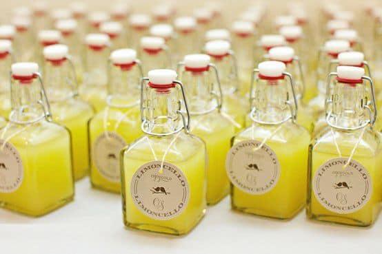 licor de limón italiano