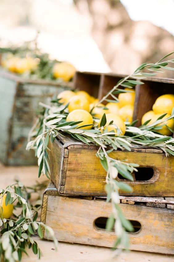 cajas de limon