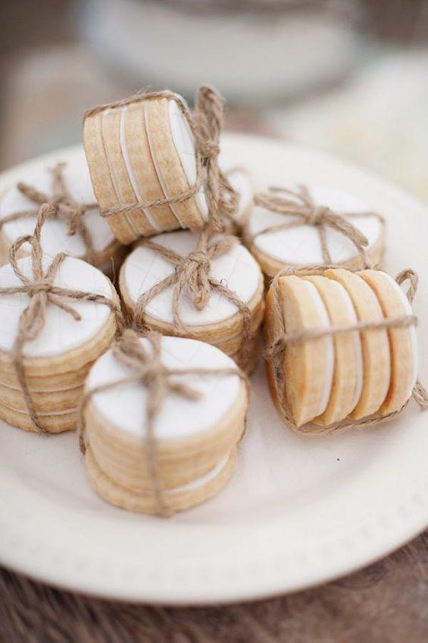 galletas    favores para una boda de otoño