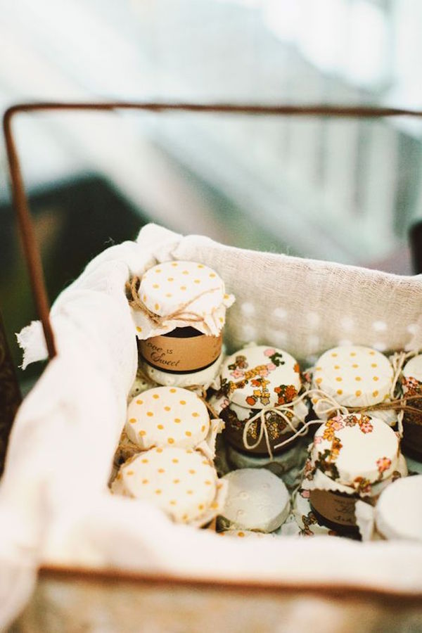 mermeladas    favores para una boda de otoño