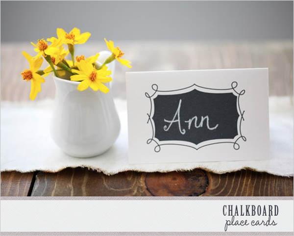 tarjetas imprimibles del lugar de la boda