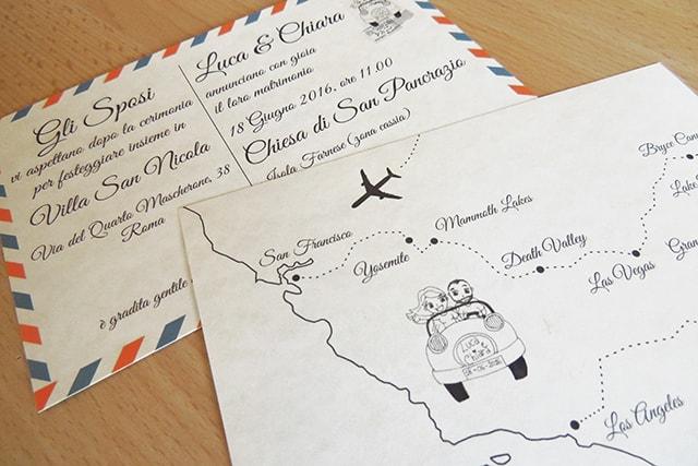 invitaciones de boda tematica de viajes