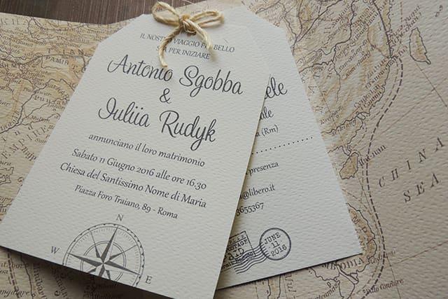 boda temática viajes. invitaciones de boda
