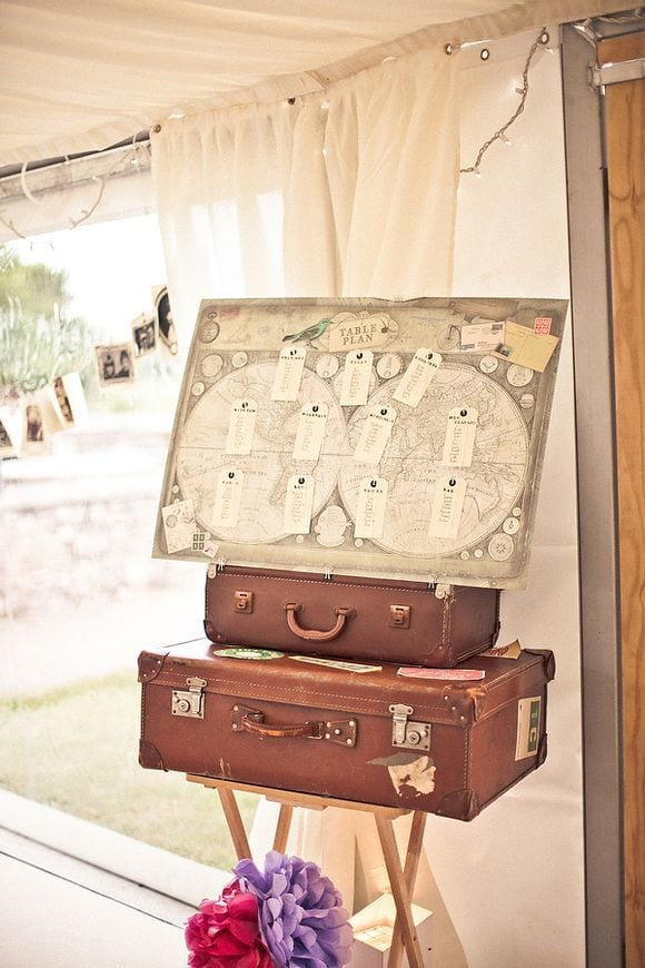 boda temática viajes