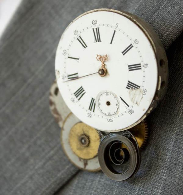 Panel de botones steampunk de bricolaje