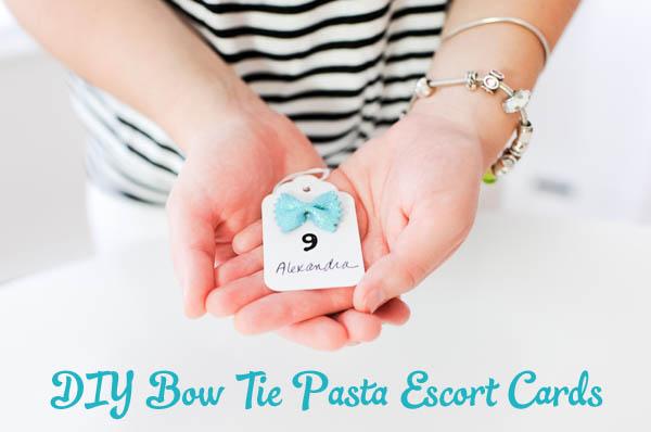 tarjeta de acompañante hazlo tu mismo pasta