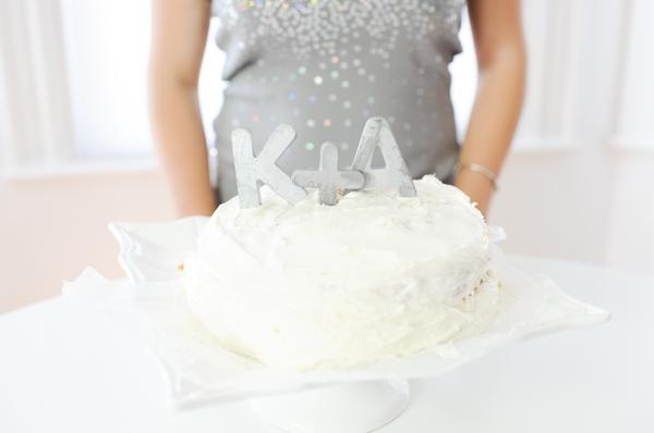 adorno de torta letras tridimensionales