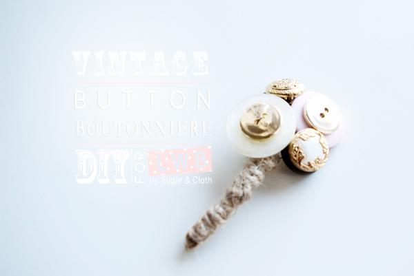 Bricolaje-botón-boutonierre