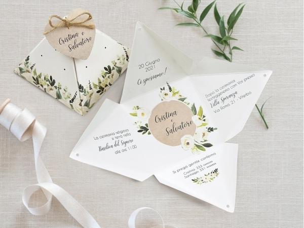 anuncios de boda florales