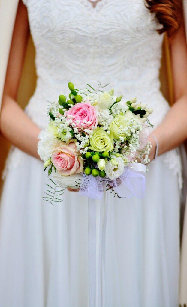 bridal bouquet, bouquet, wedding
