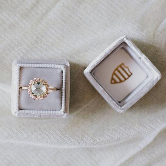 anillos de compromiso hechos a mano