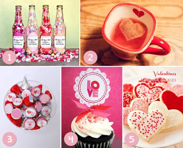 dulces ideas de San Valentín