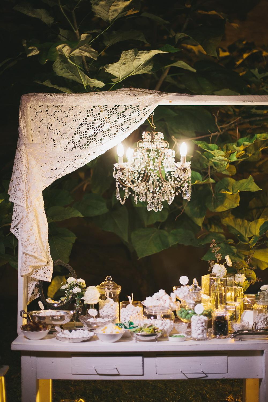 mesa dulce verde vintage