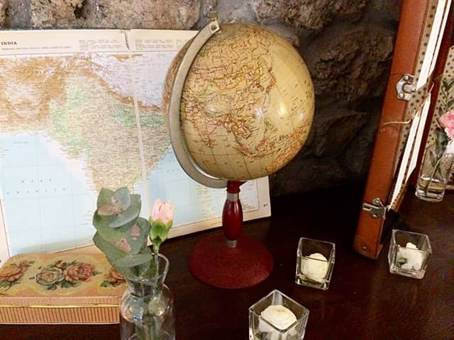 Cuadro temático de viajes