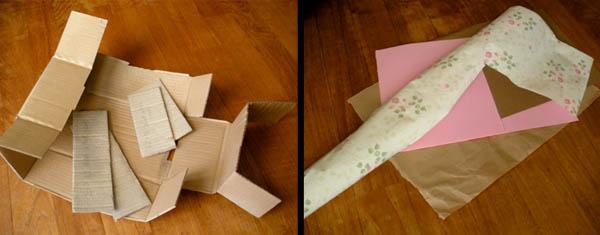 Tutorial de caja de confeti shabby chic de bricolaje