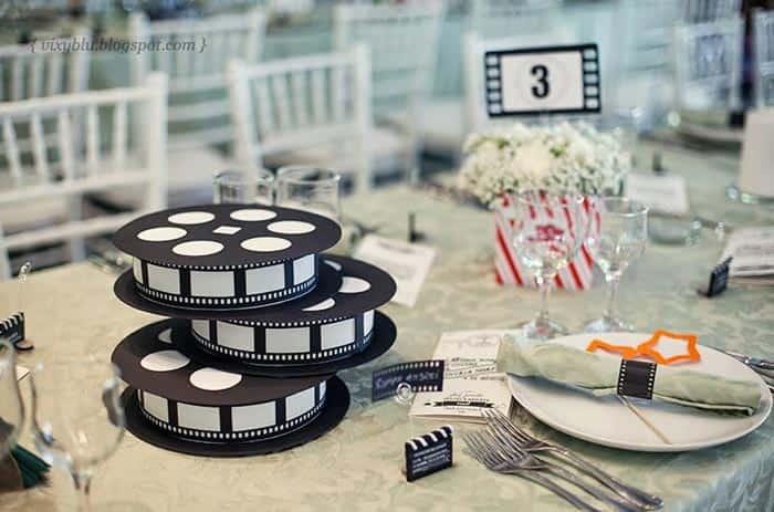 bodas temática cine