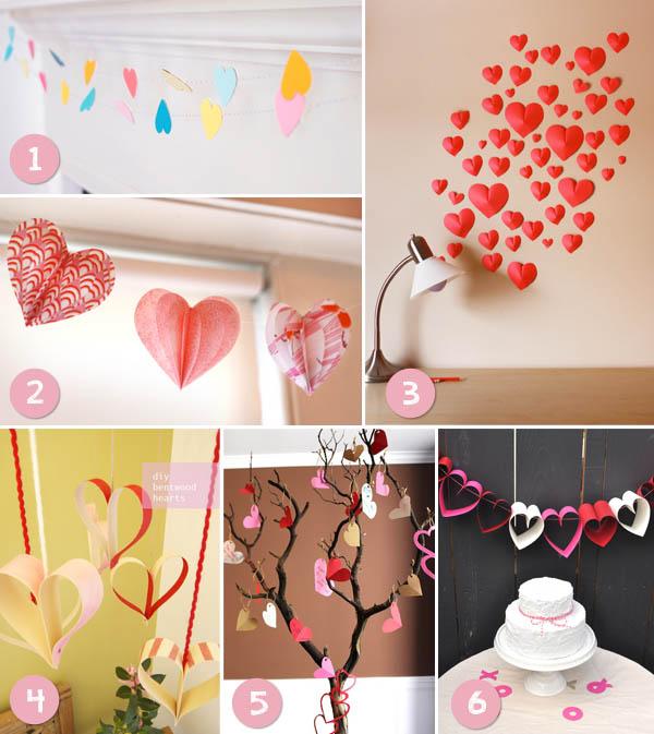 ideas de decoraciones para el día de san valentín