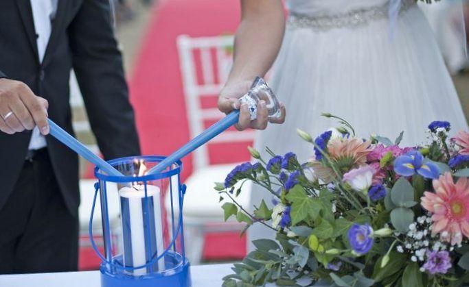ceremonia de velas boda