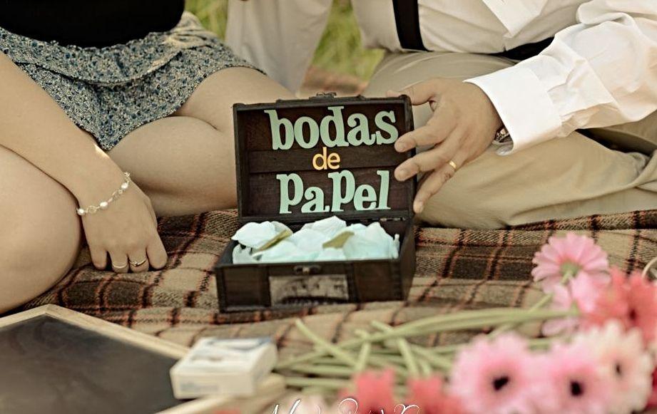 las bodas de papel. significado e ideas