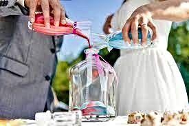 ceremonia de la arena. rituales boda