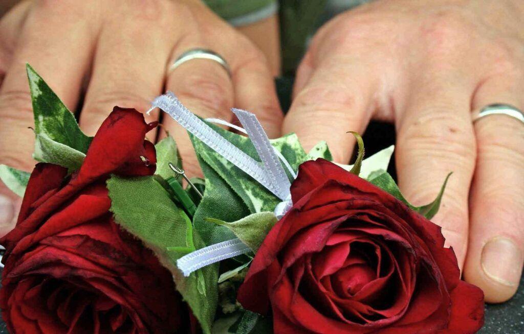 ceremonia de la rosa. rituales boda