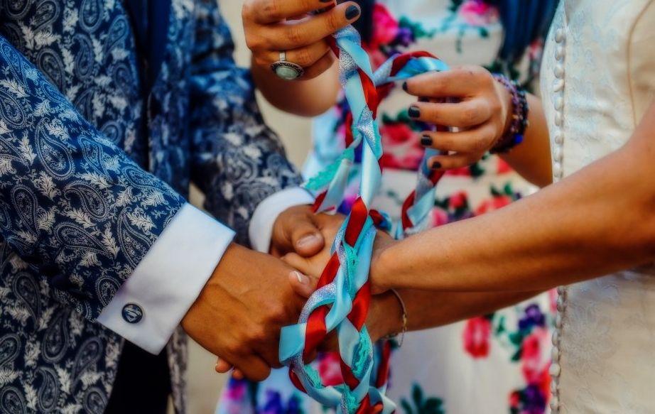 ceremonia de lazo. rituales boda