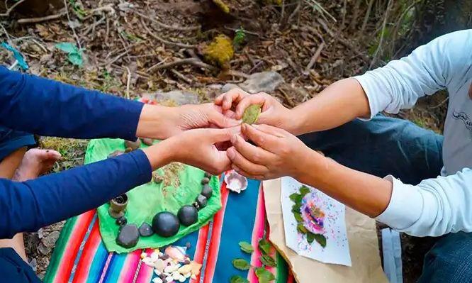 ceremonia de los 4 elementos. rituales boda